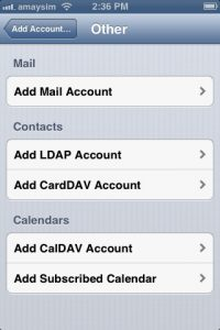 INCOMING MAIL SERVER GMAIL IPHONE