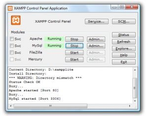 how to create virtual host in xampp