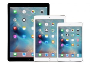 Different types of iPads