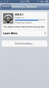 How to Update IOS