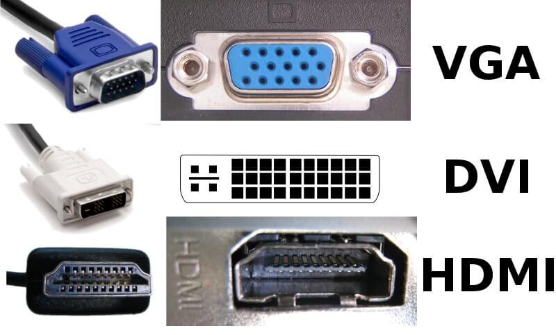 pc connectors types