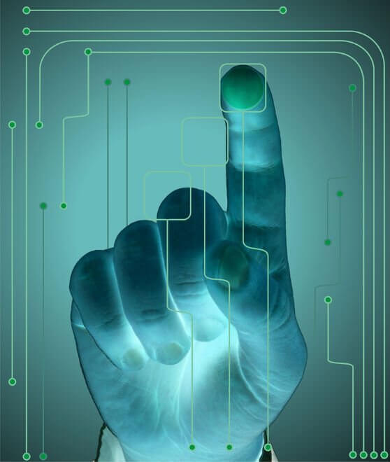what is multi point touch screen