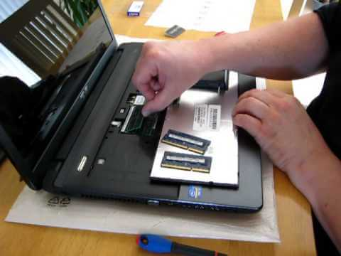 How to Install RAM in a Laptop