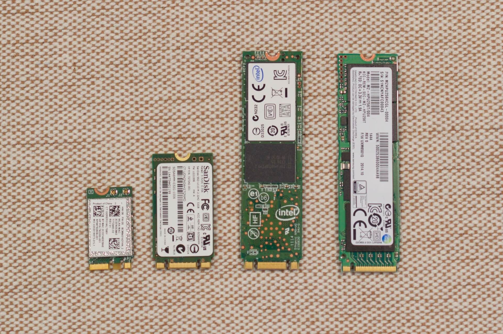 Types of SSD Drives