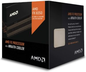 AMD FX-8350 CPU with Wraith cooler